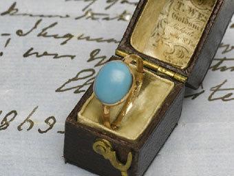 Кольцо Джейн Остин. Фото с сайта Sotheby's