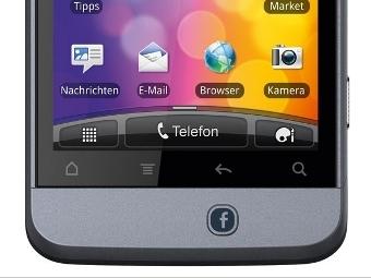 Смартфон HTC Salsa, 2011 год