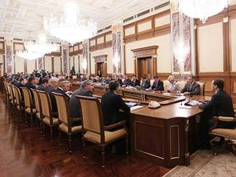 Заседание правительства РФ. Фото <!--