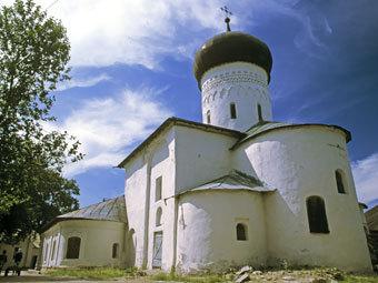 Cобор Рождества Богородицы Снетогорского женского монастыря. Фото из архива РИА Новости