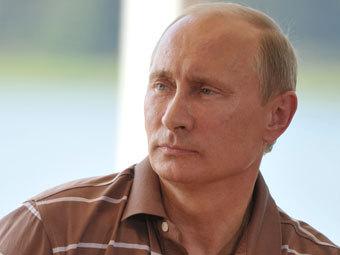 """Владимир Путин на """"Селигере"""". Фото РИА Новости, Алексей Никольский"""