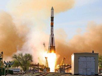 """Запуск корабля """"Прогресс М-15М"""" с Байконура. Фото Роскосмоса"""