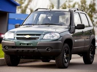 В августе начнутся продажи внедорожной версии Chevy Niva