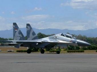 Су-30МК2 на ВВС на Индонезия. Снимка от сайта thejakartapost.com