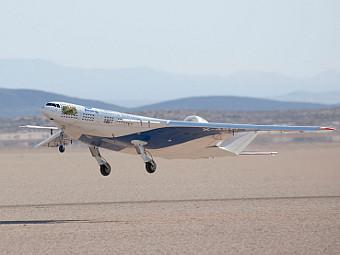 Първи полет на модел на Boeing X-48C