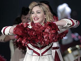 Мадонна на концерте в Санкт-Петербурге. Фото РИА Новости, Алексей Даничев