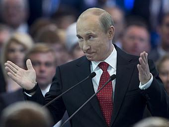 Владимир Путин. Фото РИА Новости, Сергей Гунеев
