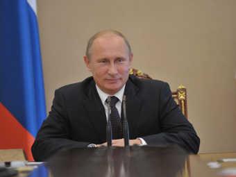 Владимир Путин. Фото РИА, Алексей Никольский