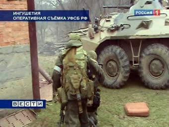 В ходе спецоперации в Ингушетии ликвидировали 4 боевиков