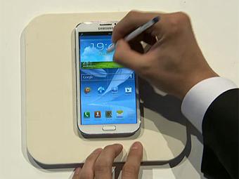 Samsung показала новую модель смартфона Galaxy Note