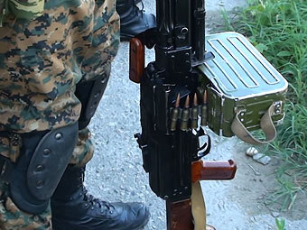 В Нальчике, во время проверки документов, убили двух боевиков