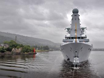 "Эсминец ""Данкан"" проекта Type 45. Фото с сайта mod.uk"