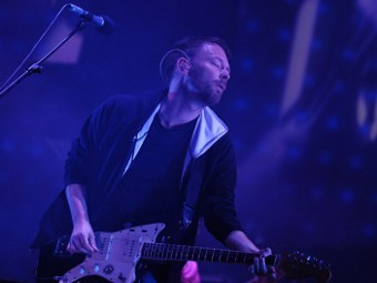 Лидер Radiohead Том Йорк. Фото ©AFP