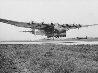Messerschmitt 323 Gigant. Фото Bundesarchiv