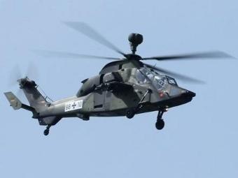 Eurocopter Tiger на СВ на Германия. Фото от сайта acus.org