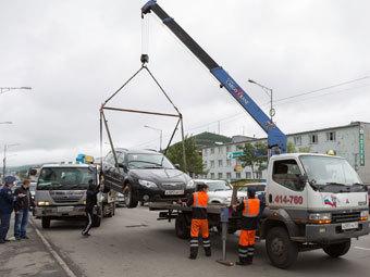 Депутаты предложили отменить эвакуацию автомобилей