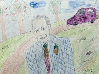 Таганрог: с каждой школы – по 100 детских рисунков про Россию к юбилею Путина