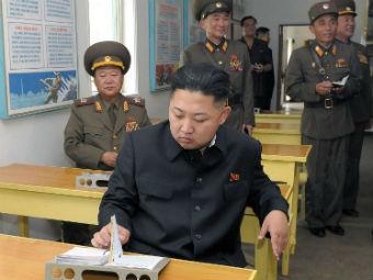 Ким Чен Ын. Фото ©AFP / KNS / KCNA