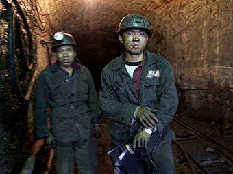 Китайские шахтеры. Фото ©AFP