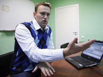Экономисты нашли связь между записями в блоге Навального и котировками акций