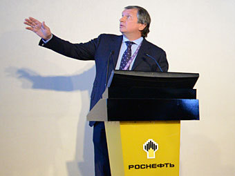 """""""Роснефть"""" захотела увеличить добычу газа в четыре раза"""