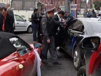 Фото ГУ МВД Москвы с места происшествия