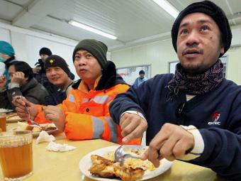 Мигрантам разрешат работать в продуктовых магазинах