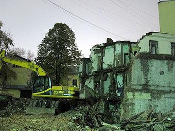 """""""Архнадзор"""" пожаловался на снос здания XIX века на Покровке"""