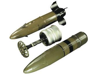 Изтрел 3УБК20 с управляема ракета 9М119М. Фото от сайта warcyb.org.ru