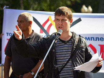 Леонид Развозжаев, Фото Коммерсантъ, Сергей Киселев