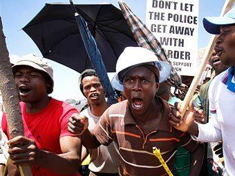 Южноафриканский золотодобытчик уволил 8,5 тысячи бастующих шахтеров