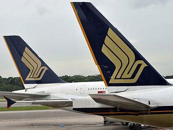 Авиакомпания из Сингапура купила 45 самолетов Airbus и Boeing