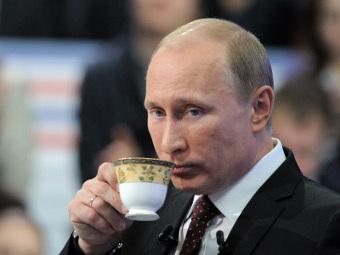 """Владимир Путин впервые отказался от """"прямой линии"""""""