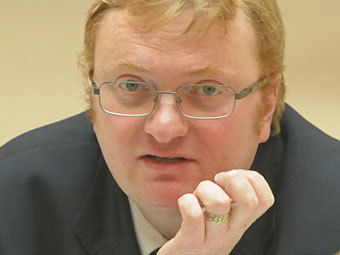 Виталий Милонов. Фото Коммерсантъ, Александр Коряков