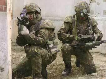 Френска военна екипировка FELIN. Фото от сайта army-technology.com