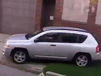 Автомобиль Шены Хардин. Скриншот с сайта YouTube
