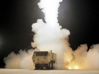 Изпитания на THAAD. Фото пресслужба на Lockheed Martin