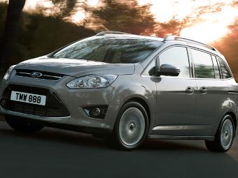 Ford прекратил поставки в Россию минивэнов C-MAX