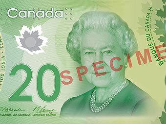 В Канаде введены в оборот пластиковые 20-долларовые купюры