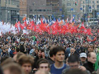 """""""Марш миллионов"""" в Москве, 15 сентября 2012 года. Фото РИА Новости, Рамиль Ситдиков"""