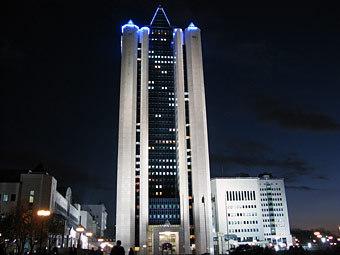 """Здание центрального офиса компании """"Газпром"""". Фото Коммерсантъ, Сергей Михеев"""