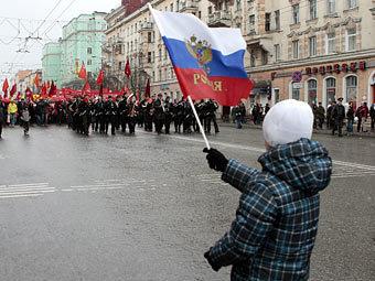 Первомайская демонстрация в Мурманске. Фото из архива ИТАР-ТАСС