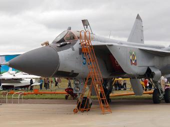 МиГ-31БМ на МАКС-2009. Фото - от сайта wikipedia.org