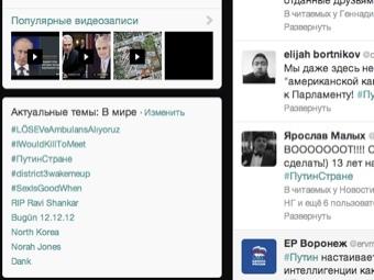 """В мировые тренды Twitter вышел хэштег """"#ПутинСтране"""""""