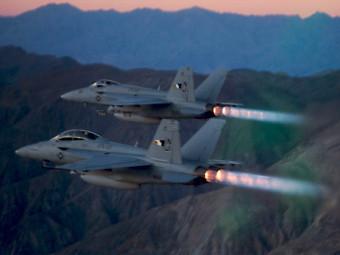 F/A-18E/F Super Hornet. Фото - сайт на Boeing