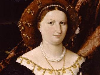 """""""Портрет Лючины Брембати"""" (около 1518). Лоренцо Лотто"""