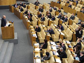 Заседание Госдумы 19 декабря 2012 года. Фото РИА Новости, Владимир Федоренко
