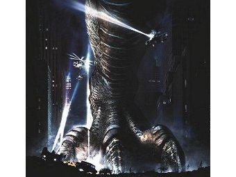 """Постер к фильму """"Годзилла"""" 1998 года"""
