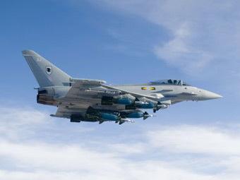 Eurofighter Typhoon. Фото от сайта eurofighter.com