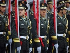 Китайские военнослужащие. Фото (c)AFP